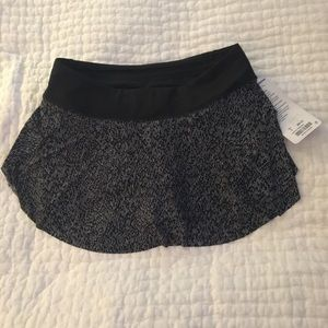 Lululemon tennis skirt. New with tags. Size 8